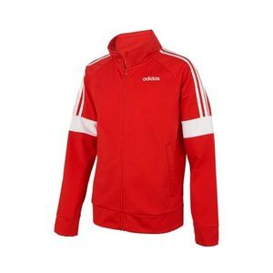 adidas Event Front Zip Jacket in red size XL
